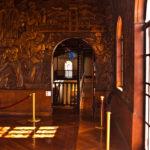 Costa Rica Art Museum Golden Room entrance.