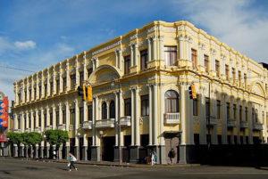 Melico Salazar Theater corner.