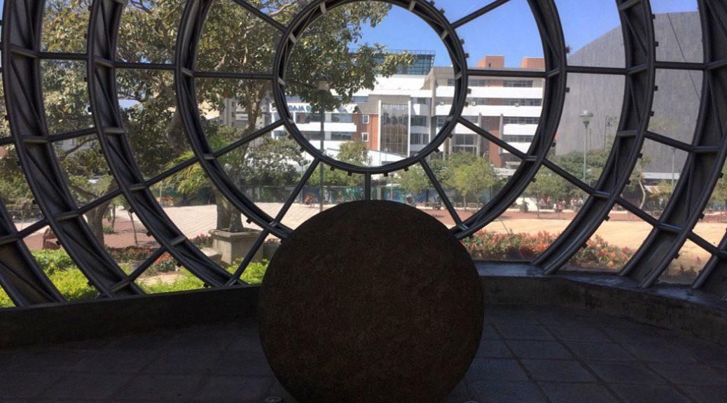 Stone spheres in San Jose