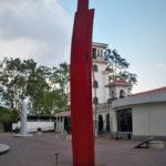 Arboriforme III behind the Costa Rican Art Museum in San Jose.