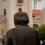 Madre Tierra facing the Costa Rica Art Museum from the sculpture garden.
